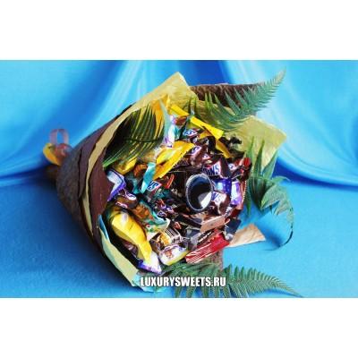 Букет из шоколадных батончиков Ералаш микс