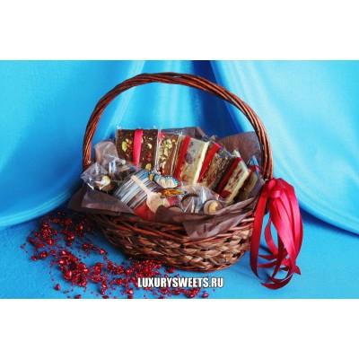 Корзина с шоколадом ручной работы Шоко