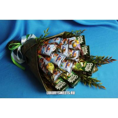 Букет - угощение Лакомка