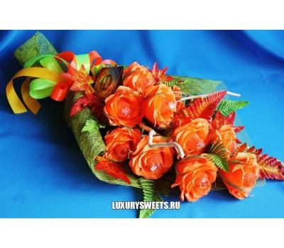 Букет из конфет Чайные розы