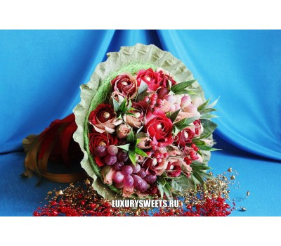 Букет из конфет Романтика 2