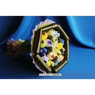 Букет из конфет Акварель
