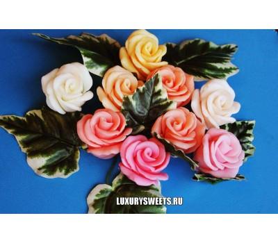 Мыло ручной работы Бутон розы 3