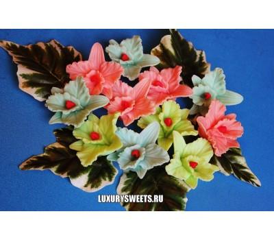 Мыло ручной работы Орхидея каттлея