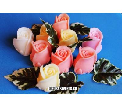 Мыло ручной работы Бутон розы 2