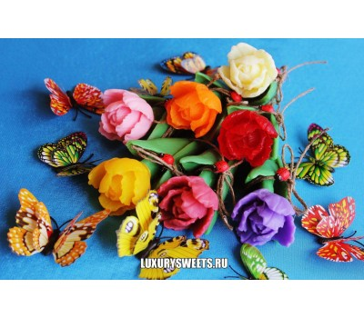 Мыло ручной работы Тюльпан роскошный