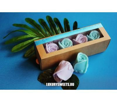 Мыло ручной работы Розочки в коробочке