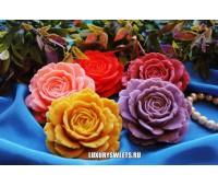 Мыло ручной работы Роза крупная