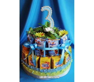 Торт - угощение Детский 3