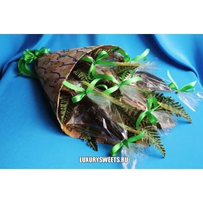 Мужской букет-закуска из вяленой рыбы  Вяленая кадриль