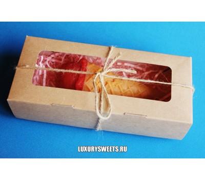 Мыло ручной работы Набор в коробочке Мороженое