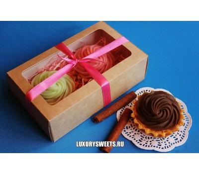 Мыло ручной работы Пирожные в коробочке