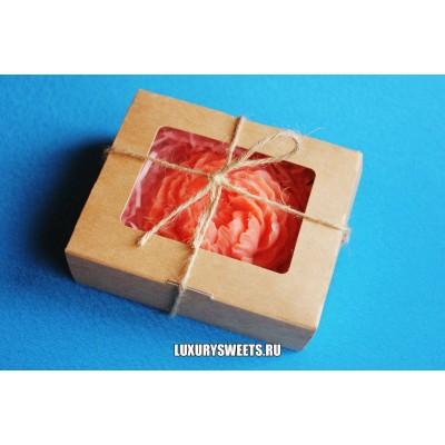 Мыло ручной работы Набор в коробочке Пион