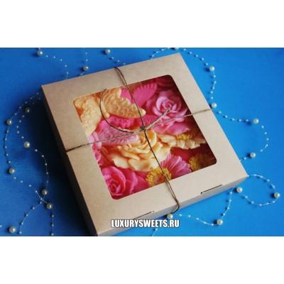 Мыло ручной работы Набор в коробочке Цветущая аллея 2