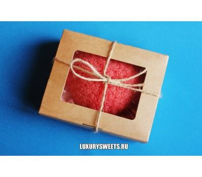 Мыло ручной работы Набор в коробочке Сердце в розочках