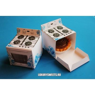 Коробка картонная ручной работы Плита