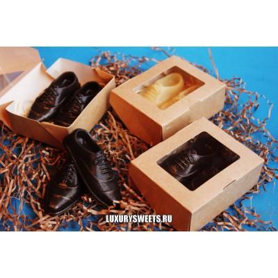 Мыло ручной работы Ботинки в коробке