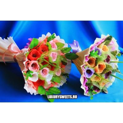Букет из мыла ручной работы  Питерские тюльпаны 4