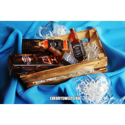 Мыло ручной работы Jack Daniels в подарочной коробочке