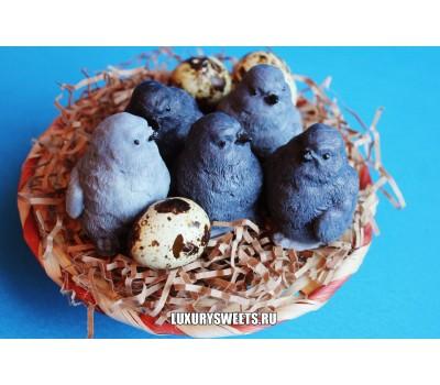 Мыло ручной работы Гнездо с птенцами