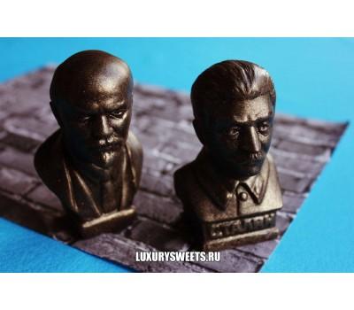Мыло ручной работы Сталин и Ленин 110г