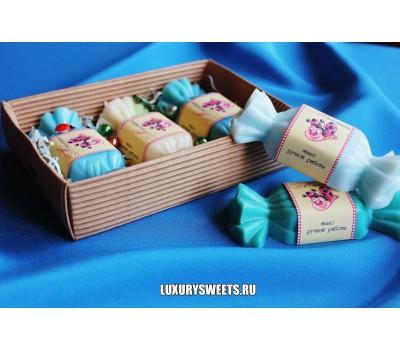 Мыло ручной работы Сладкая коробочка для мальчика