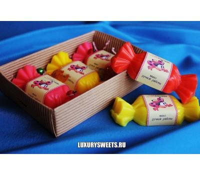 Мыло ручной работы Сладкая коробочка для девочки