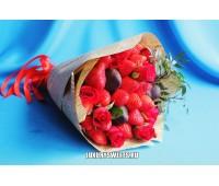 Букет из клубники Клубничный десерт Шоко