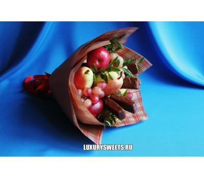 Букет из фруктов и шоколада Фиеста