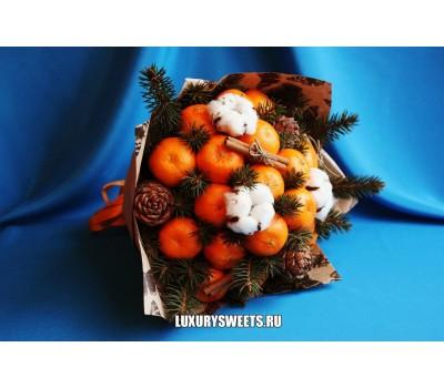 Букет из мандаринов Зимнее утро