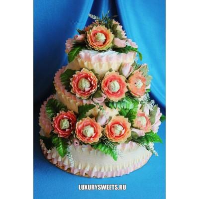 Торт из памперсов Принцесса 2