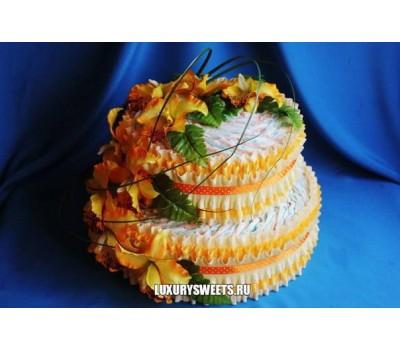 Торт из памперсов Чудесница