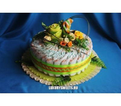 Торт из памперсов Летний фреш