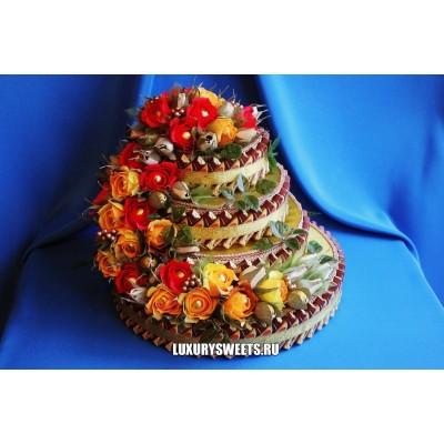 Торт - шкатулка из конфет Баронесса