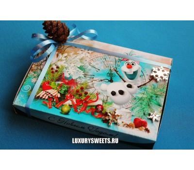Оформление коробки конфет 5