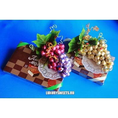 Оформление коробки конфет 3