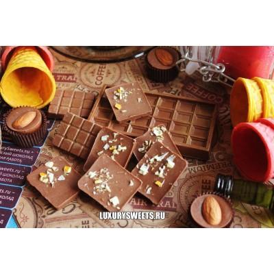 Молочный шоколад ручной работы с добавлением апельсина 15 г