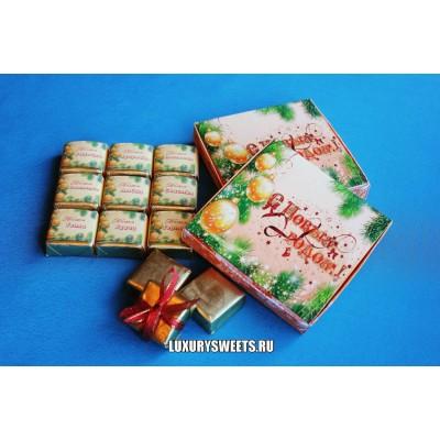 Оформление коробки конфет 15