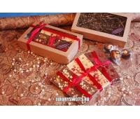 Коробка с шоколадом ручной работы 350 г