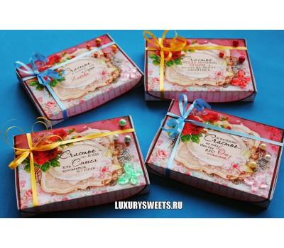 Оформление коробки конфет 7