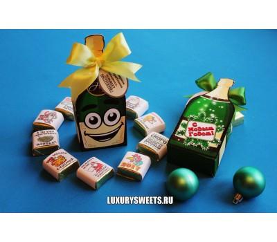 Оформление коробки конфет 14