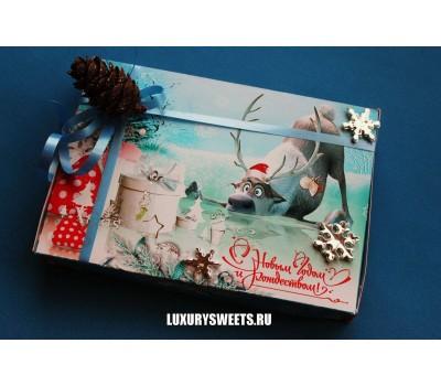 Оформление коробки конфет 4