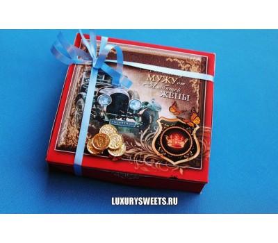 Оформление коробки конфет 12