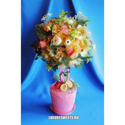 Топиарий из цветов Воображение