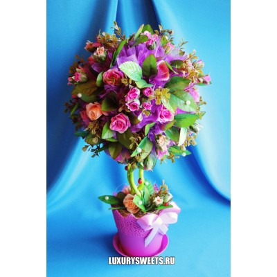Топиарий из цветов Мистика 2