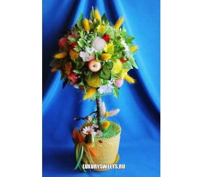 Топиарий из цветов Тутти Фрутти
