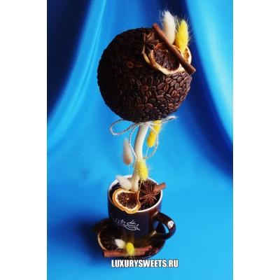 Топиарий из кофе Кофейный каприз
