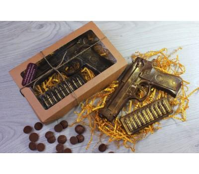 Набор из шоколада ручной работы Военный арсенал 130 г