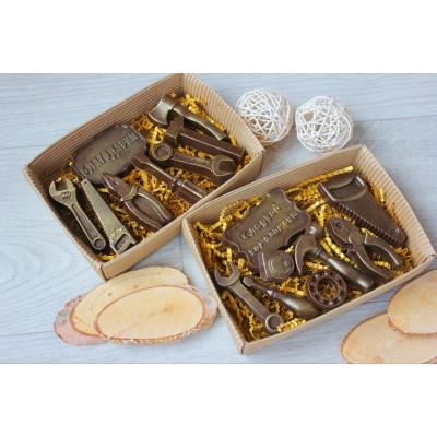 Набор из шоколада ручной работы Дарим инструменты 70 г