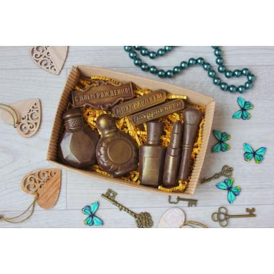 Набор из шоколада ручной работы Дамские штучки 100 г
